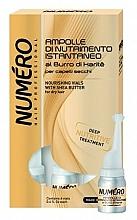 Parfüm, Parfüméria, kozmetikum Tápláló lotion hajra sheavajra - Brelil Numero Nourishing Vials For Hair With Shea Butter