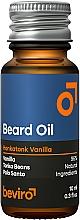 Parfüm, Parfüméria, kozmetikum Szakállolaj - Beviro Beard Oil Honkatonk Vanilla