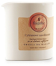"""Parfüm, Parfüméria, kozmetikum Masszázsgyertya """"Citrus hidratálás"""" - Flagolie Citrus Hydration Massage Candle"""