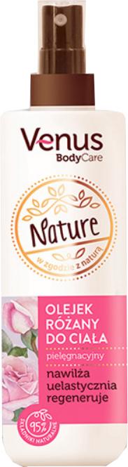Rózsa testolaj - Venus Nature Rose Body Oil