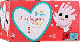 Parfüm, Parfüméria, kozmetikum Gyerek nedves törlőkendő, 12x40 db - Pampers Kids On The Go