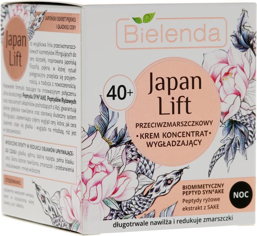 Éjszakai ránctalanító krém 40+ - Bielenda Japan Lift Night Cream 40+