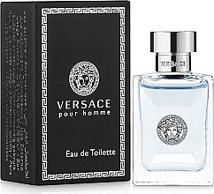 Parfüm, Parfüméria, kozmetikum Versace Versace pour Homme - Eau De Toilette (miniatűr)