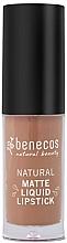 Parfüm, Parfüméria, kozmetikum Matt ajakrúzs - Benecos Natural Matte Liquid Lipstick