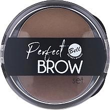Parfüm, Parfüméria, kozmetikum Szemöldökfesték készlet, applikátorral - Bell Perfect Brow Set
