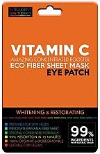 Parfüm, Parfüméria, kozmetikum Szemtapasz - Beauty Face IST Whitening & Restorating Eye Patch Active Vitamin C