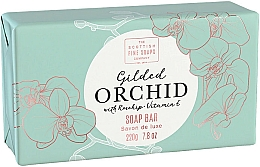 """Parfüm, Parfüméria, kozmetikum Testszappan """"Orchidea"""" - Scottish Fine Soap Gilded Orchid Luxury Wrapped Soap"""