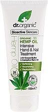 """Parfüm, Parfüméria, kozmetikum Kéz krém """"Kenderolaj"""" - Dr. Organic Hemp Oil Intensive Hand & Nail Treatment"""