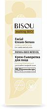 """Krém-szérum arcra """"Hidromattítás"""" - Bisou Matting Bio Facial Cream Serum — fotó N2"""