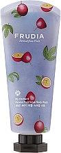 Parfüm, Parfüméria, kozmetikum Radírozó hatású tusfürdő maracuja illattal - Frudia My Orchard Passion Fruit Scrub Body Wash