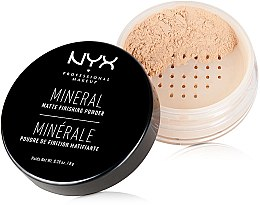 Parfüm, Parfüméria, kozmetikum Finish ásványi púder - NYX Professional Makeup Mineral Matte Finishing Powder