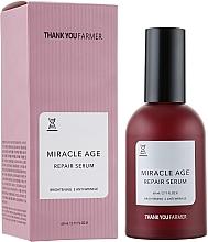 Parfüm, Parfüméria, kozmetikum Világosító regeneráló szérum, ráncok ellen - Thank You Farmer Miracle Age Serum