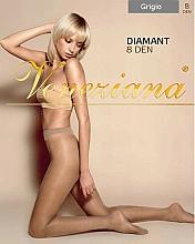 """Parfüm, Parfüméria, kozmetikum Női harisnyanadrág """"Diamant"""", 8 Den, grigio - Veneziana"""