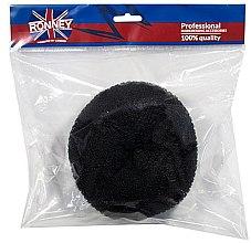 Parfüm, Parfüméria, kozmetikum Kontyalátét, 15x6.5 cm, fekete - Ronney Professional Hair Bun 055