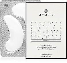 Parfüm, Parfüméria, kozmetikum Kollagénes szemtapasz - Avant Advanced Pack-Hydra-Bright Collagen Eye Restoring Pads