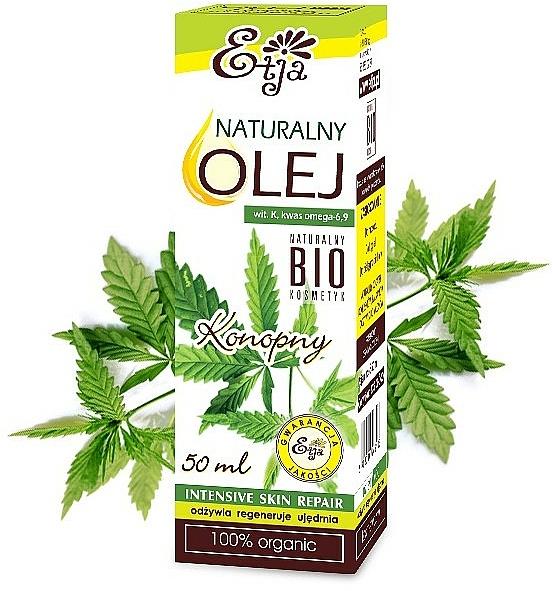 Természetes kendermag olaj - Etja Natural Oil