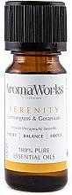 Parfüm, Parfüméria, kozmetikum Illóolaj keverék - AromaWorks Serenity Essential Oil