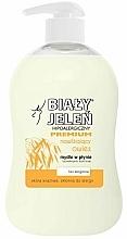 Parfüm, Parfüméria, kozmetikum Hipoallergén szappan zab kivonattal - Bialy Jelen Hypoallergenic Premium Soap Extract Of Oats