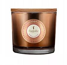 """Parfüm, Parfüméria, kozmetikum Illatgyertya pohárban """"Vanília és málna"""" - Flagolie Fragranced Candle Vanilla And Raspberry"""