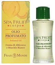 Parfüm, Parfüméria, kozmetikum Frais Monde Spa Fruit Apricot And White Musk Perfumed Oil - Parfüm olaj