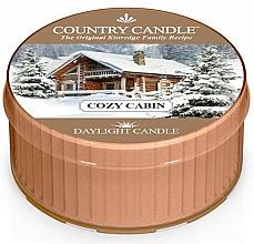 "Parfüm, Parfüméria, kozmetikum Teamécses ""Édes otthon"" - Country Candle Cozy Cabin Daylight"