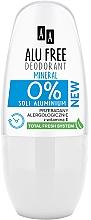 Parfüm, Parfüméria, kozmetikum Dezodor - AA Roll-on Alu Free Mineral