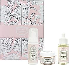 Parfüm, Parfüméria, kozmetikum Készlet - Panier des Sens Radiant Peony (cr/50ml + ser/30ml + foam/50ml)