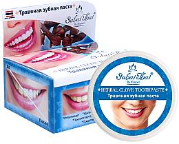 Parfüm, Parfüméria, kozmetikum Fogkrém szekfűszeggel - Sabai Thai Herbal Clove Toothpaste