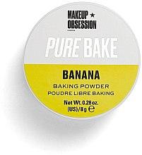 Parfüm, Parfüméria, kozmetikum Mattító porpúder - Makeup Obsession Pure Bake Baking Powder Banana