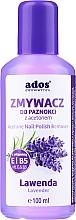 "Parfüm, Parfüméria, kozmetikum Körömlakklemosó ""Levendula"" - Ados Acetone Nail Polish Remover"