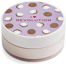 Parfüm, Parfüméria, kozmetikum Por púder kókuszos - I Heart Revolution Loose Baking Powder Coconut