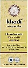 """Parfüm, Parfüméria, kozmetikum Organikus hajmaszk-kondicionáló """"Henna"""" - Khadi Hair Conditioner"""