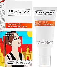 Parfüm, Parfüméria, kozmetikum Napvédő arckrém - Bella Aurora Protector Solar Pre-Base SPF50+