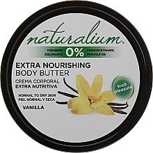 Parfüm, Parfüméria, kozmetikum Testápoló olaj - Naturalium Vainilla Extra Nourishing Body Butter