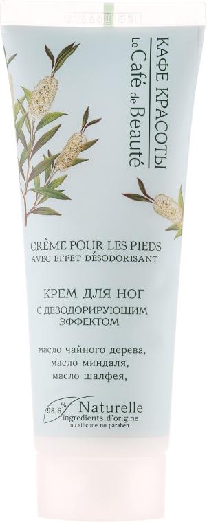 Dezodoráló lábkrém - Le Cafe de Beaute Foot Cream