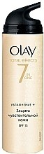 Parfüm, Parfüméria, kozmetikum Hidratáló nappali krém - Olay Total Effects Day Cream Sensitive SPF15