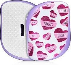 Parfüm, Parfüméria, kozmetikum Kompakt hajkefe - Tangle Teezer Compact Styler Girl Power