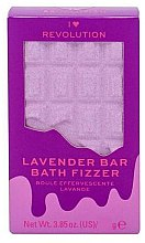 "Parfüm, Parfüméria, kozmetikum Fürdőgolyó - I Heart Revolution Chocolate Bar Bath Fizzer ""Lavender"""