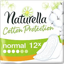 Parfüm, Parfüméria, kozmetikum Szárnyas egészségügyi betét, 12 db - Naturella Cotton Protection Ultra Normal