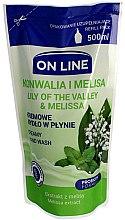 Parfüm, Parfüméria, kozmetikum Folyékony szappan - On Line Lilly of The Valley & Melissa Creamy Hand Wash (utántöltő blok)