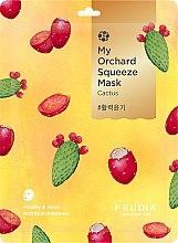 Parfüm, Parfüméria, kozmetikum Vitalizáló anyagmaszk kaktusszal - Fruida My Orchard Squeeze Mask Cactus