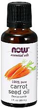 Parfüm, Parfüméria, kozmetikum Sárgarépa mag illóolaj - Now Foods Essential Oils 100% Pure Carrot Seed Oil