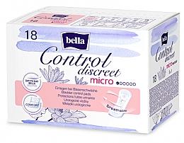 Parfüm, Parfüméria, kozmetikum Inkontencia betét nőknek, 18 db. - Bella Control Discreet Micro Bladder Control Pads