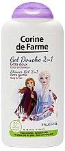 """Parfüm, Parfüméria, kozmetikum Sampon és tusfürdő 2 az 1 -ben """"Anna és Elza"""" - Corine de Farme Frozen"""