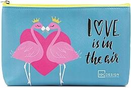 Parfüm, Parfüméria, kozmetikum Mintás neszeszer, világoskék - IDC Design Accessories Cosmetig Bag