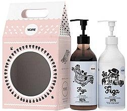 Parfüm, Parfüméria, kozmetikum Készlet - Yope Fig (soap/500ml + b/lot/300ml)