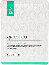 Parfüm, Parfüméria, kozmetikum Szövetmaszk kombinált és usíros bőrre zöld teával - It's Skin Green Tea Watery Mask Sheet