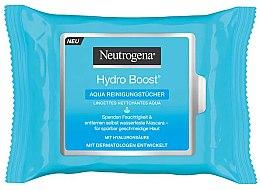 Parfüm, Parfüméria, kozmetikum Tisztító nedves törlőkendő - Neutrogena Hydro Boost