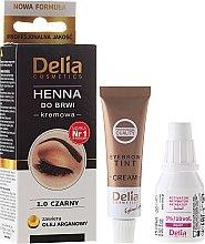 Parfüm, Parfüméria, kozmetikum Szemöldök festék - Delia Cosmetics Cream Eyebrow Dye
