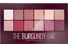 Parfüm, Parfüméria, kozmetikum Szemhéjfesték paletta - Maybelline The Burgundy Bar Palette